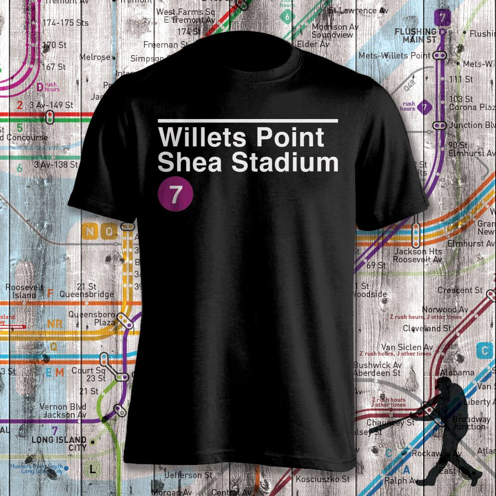 Shea Stadium Subway Stop Shirt