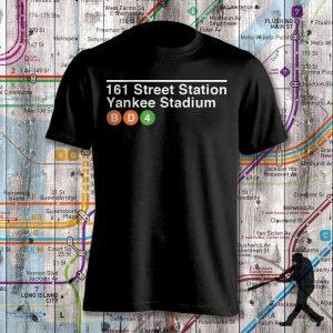 Yankee Stadium Subway Stop Shirt